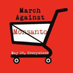 March Against Monsanto May 25 2013 Logo