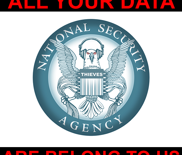 All Your Data Are Stolen By The NSA - image on troutish.net
