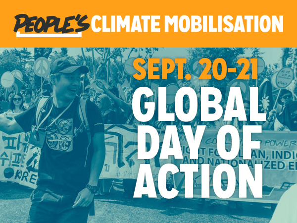 Peoples Climate Mobilisation, September 21, 2014